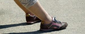 stopalo, obuvalo, čevelj, brez nogavic, bosa noga