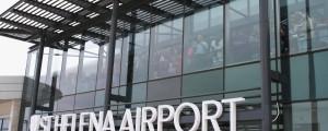 sveta helena, letališče