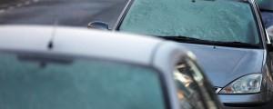 zamrznjena vetrobranska stekla