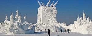 sneg, Kitajska, Harbin