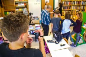 FOTO: Posavski učenci snemajo filme