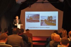 FOTO: Mednarodna konferenca o Savski daljinski kolesarski poti