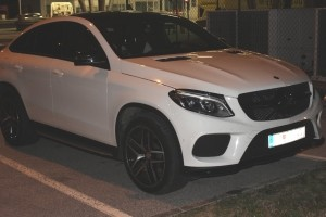 FOTO: Zasegli ukraden Mercedes GLE