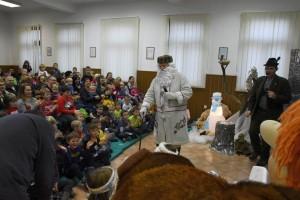 FOTO: Dedek Mraz tokrat pod Gorjanci