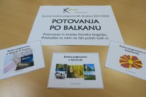 Potovanja po Balkanu v Knjižnici Brežice