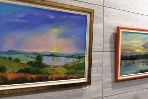 VIDEO: V Straži razstavlja slikarka Boža Jambrek