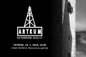 V Sevnici razstava Artkum Ex-tempore 2016-17