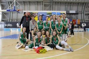 Krkašice druge na mednarodnem turnirju v Črni gori, članice do 13. zmage v sezoni