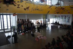 Proslava ob Prešernovem dnevu na OŠ Toneta Pavčka
