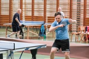 FOTO: Namiznoteniški turnir na Senovem Gajšku, med dvojicami slavila Brili in Baškovč