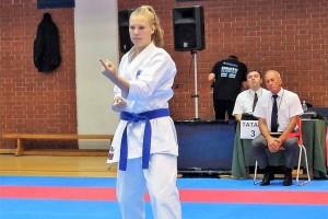 Nika Omerzo nastopila na svetovnem pokalu Karate 1 Series A v Guadalajari v Španiji
