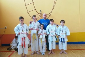 FOTO: Sevniški karateisti s štirimi medaljami