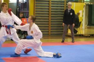 FOTO: Luka in Ela zmagovalca 3. kola šolske karate lige