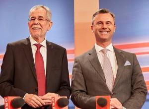 Avstrijci volijo: Hofer ali Van der Bellen?