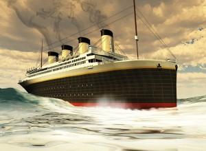 Na Kitajskem začeli gradnjo replike Titanika
