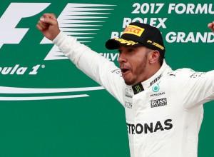 Hamilton z deveto zmago letos še povečal prednost v skupnem seštevku