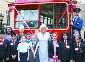 Vojvodinja Camilla med mladimi bralci