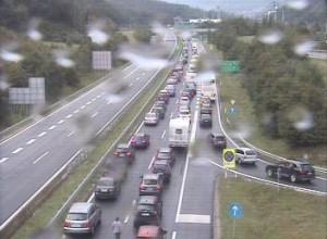 Kilometrski zastoji na slovenskih avtocestah