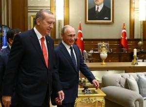 Erdogan: Ruski prijatelji podpirajo naše posredovanje v Siriji