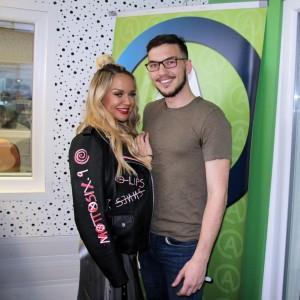 Maja Šuput je pred ljubljanskim koncertom obiskala Aktualov studio