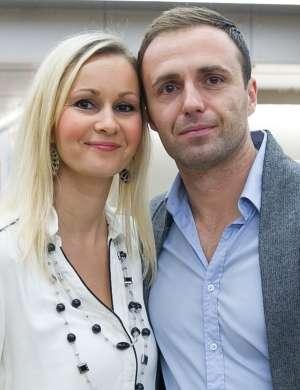 Ranko Babić s svojo srčno izbranko.