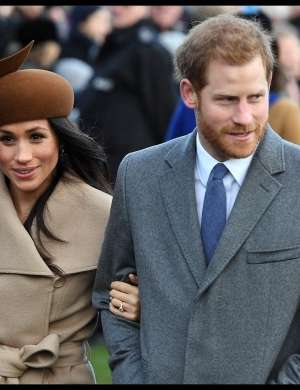 Meghan Markle in princ Harry.