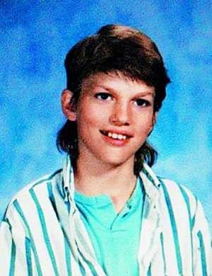 Ashton Kutcher kot otrok