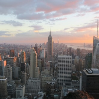 Pogled na Manhattan