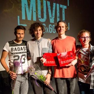 Ekipa Vrzimo kovanec lansko leto s prvo nagrado in z nagrado za mlado sekcijo za film Zaradi Eve