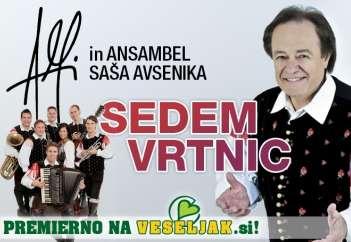 Alfi Nipič in Ansambel Saša Avsenika