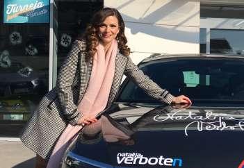 Natalija Verboten v avtu preživi veliko časa.