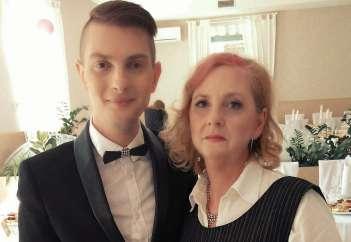 Damjan Murko in njegova mama