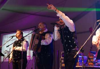 Modrijani so pokazali, zakaj so ena najbolj vročih narodno-zabavnih skupin v Sloveniji.