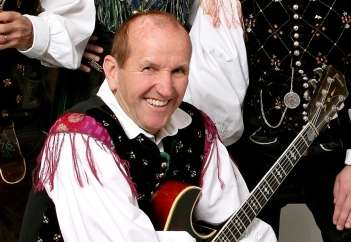 Renato Verlič, kitarist Hišnega ansambla Avsenik.