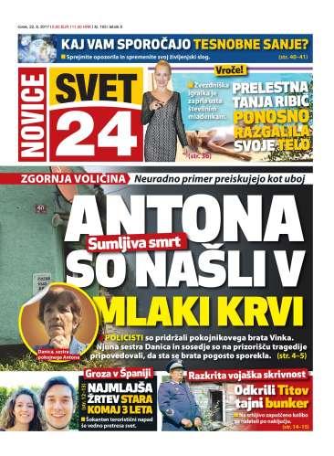 Naslovnica Novice Svet24 št