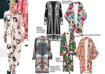 Ščepec eksotike: kimono!