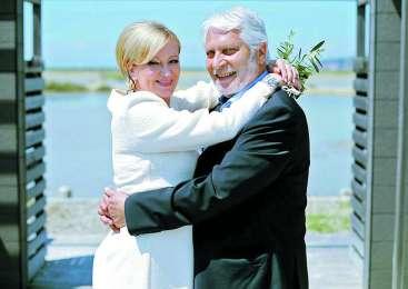 Ksenija Benedetti in Boris Cavazza: v ljubezni ne potrebujeta besed