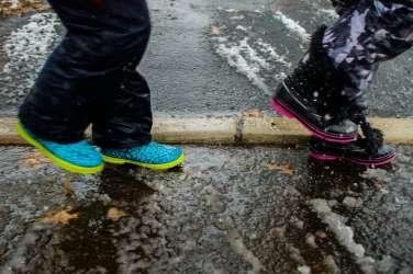 sneg, dež, plundra