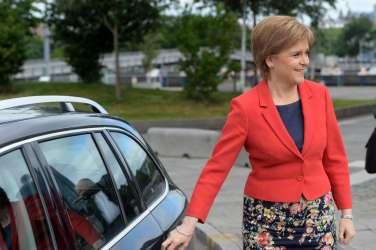 Nicola Sturgeon, prva ministrica škotske vlade