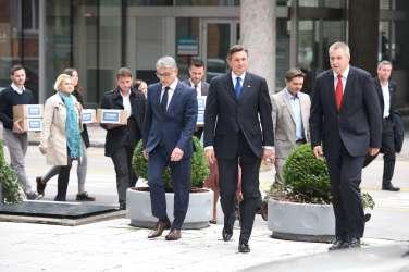 Bortu Pahor, Dejan Židan