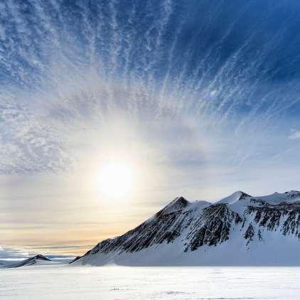 91 ognjenikov pod ledom - najvišji ima 3.850 metrov