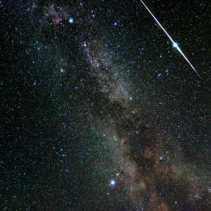 Najsvetlejši roj meteorjev bo letos motila Luna