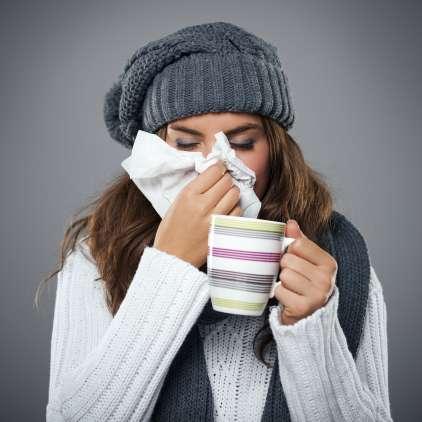 En teden za prehlad: odštevanje do ozdravitve