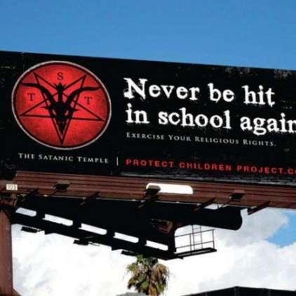 Satanisti proti šeškanju