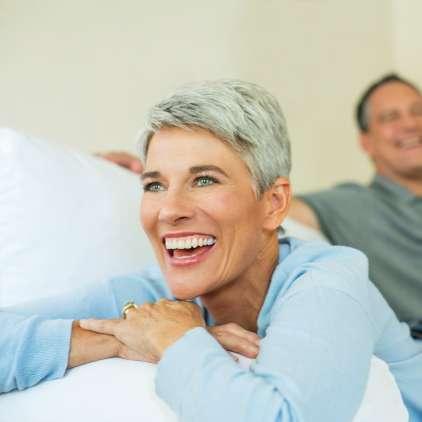 Skrivnost bleščečega nasmeha tudi v starosti