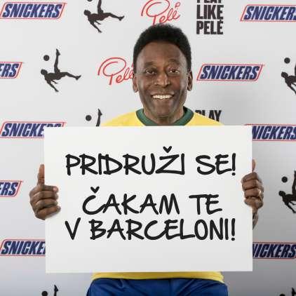 Kapetan NK Maribor Marcos Tavares bo odločil, kdo od mladih slovenskih nogometašev bo v Barceloni spoznal Peléja