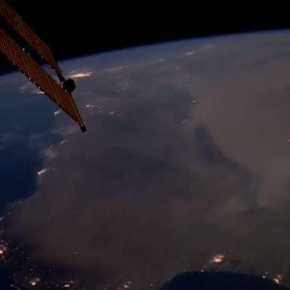 VIDEO: Tako so nevihte na Zemlji videti iz vesolja
