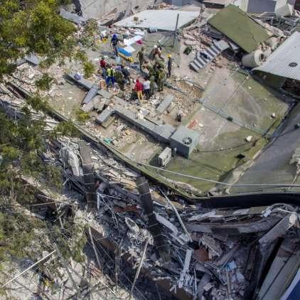 Zemlja nas opozori pet let prej. Minila so že štiri ... 2018 bo torej leto katastrofalnih potresov