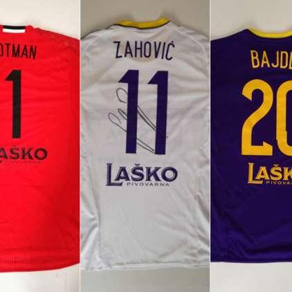 Dobrodelna dražba: Potegujte se za podpisan dres treh nogometašev Maribora in tako pomagajte otrokom!