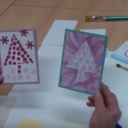 VIDEO: Kako izdelati preprosto voščilnico?